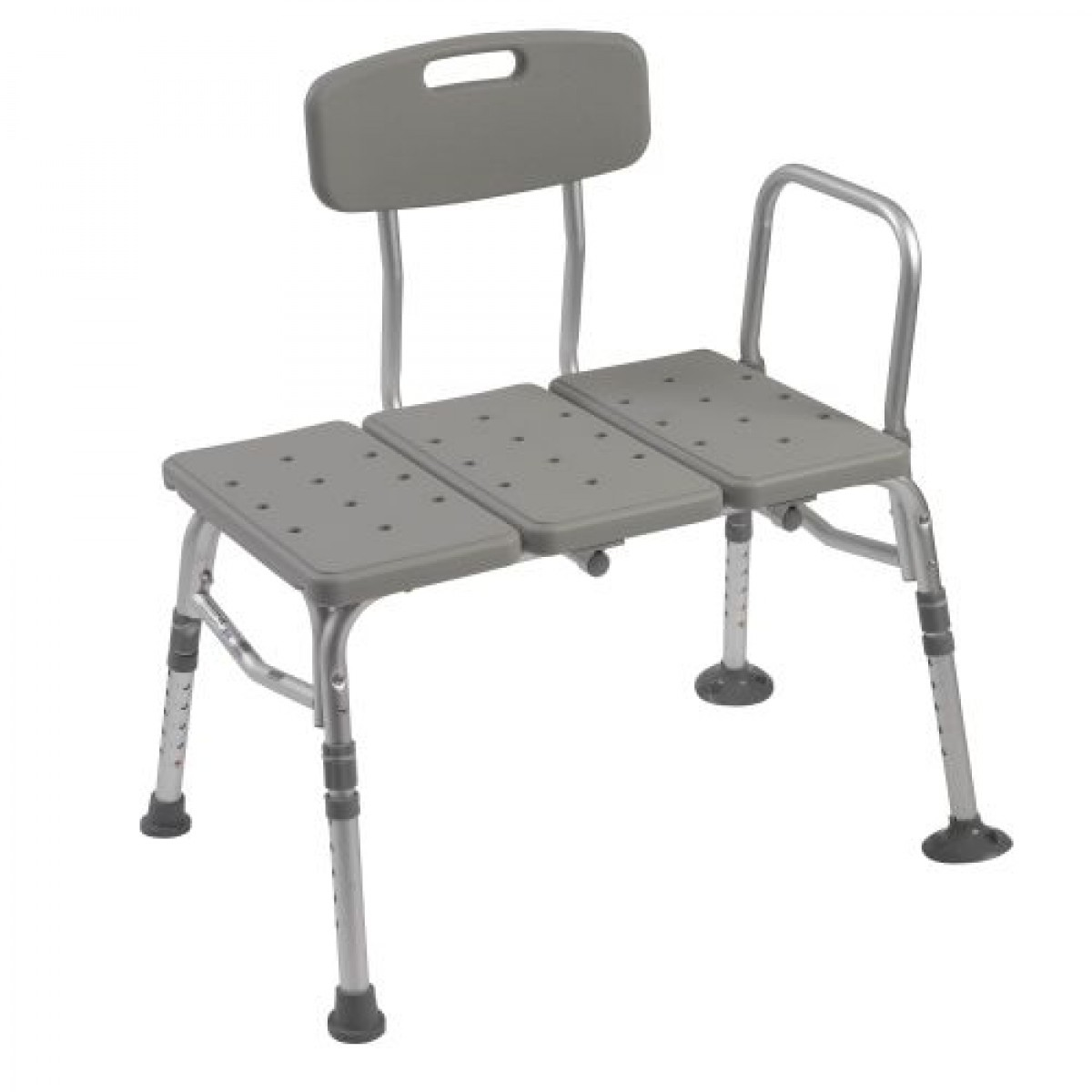 Plastic Transfer Bench With Adjustable Backrest By Drive