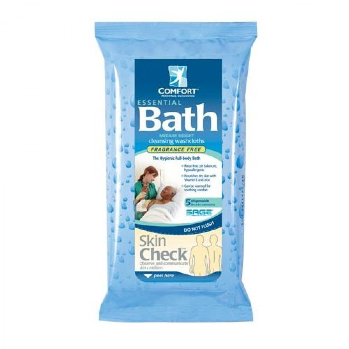 Essential bath cleansing washcloths for Unscented bathroom deodorizer