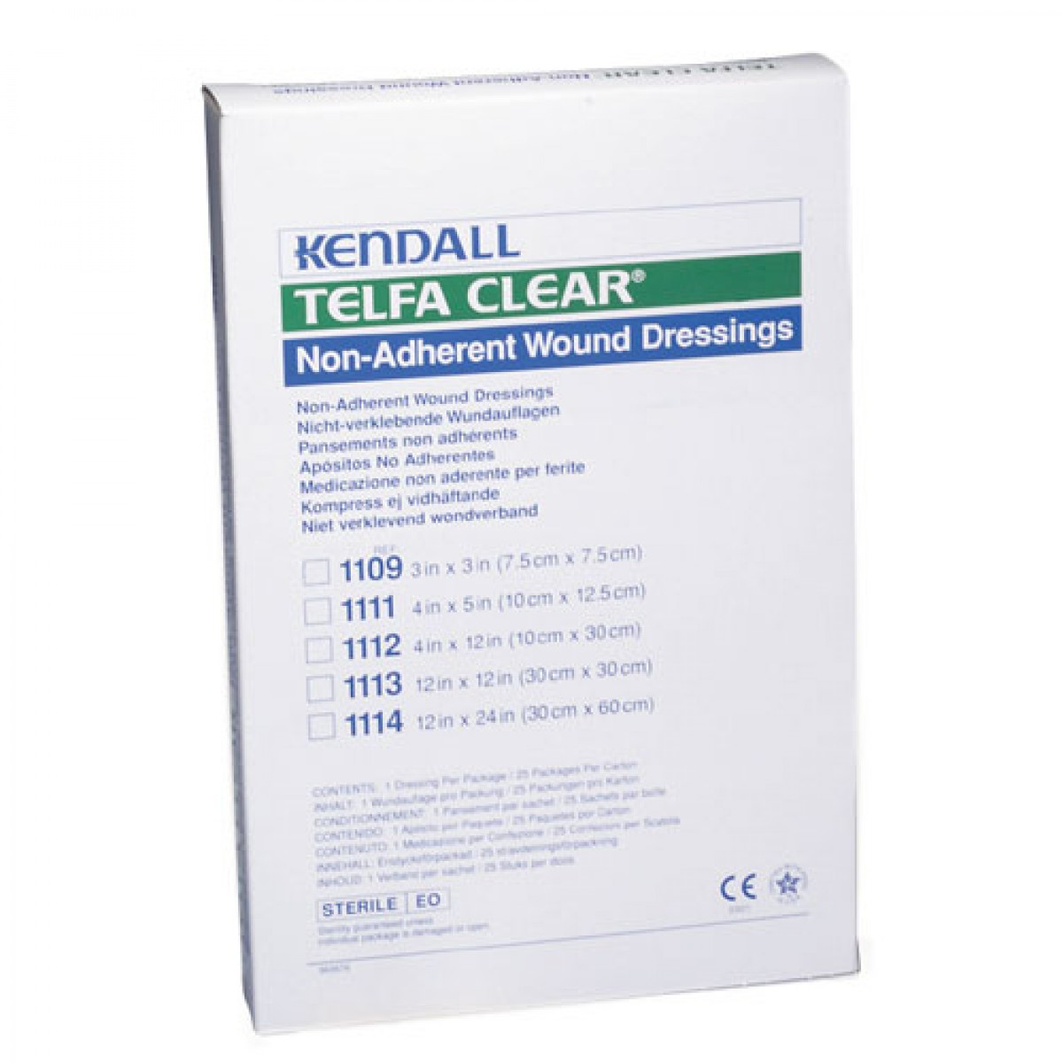 Telfa clear non adherent wound dressing on sale with - Elfa dressing ...