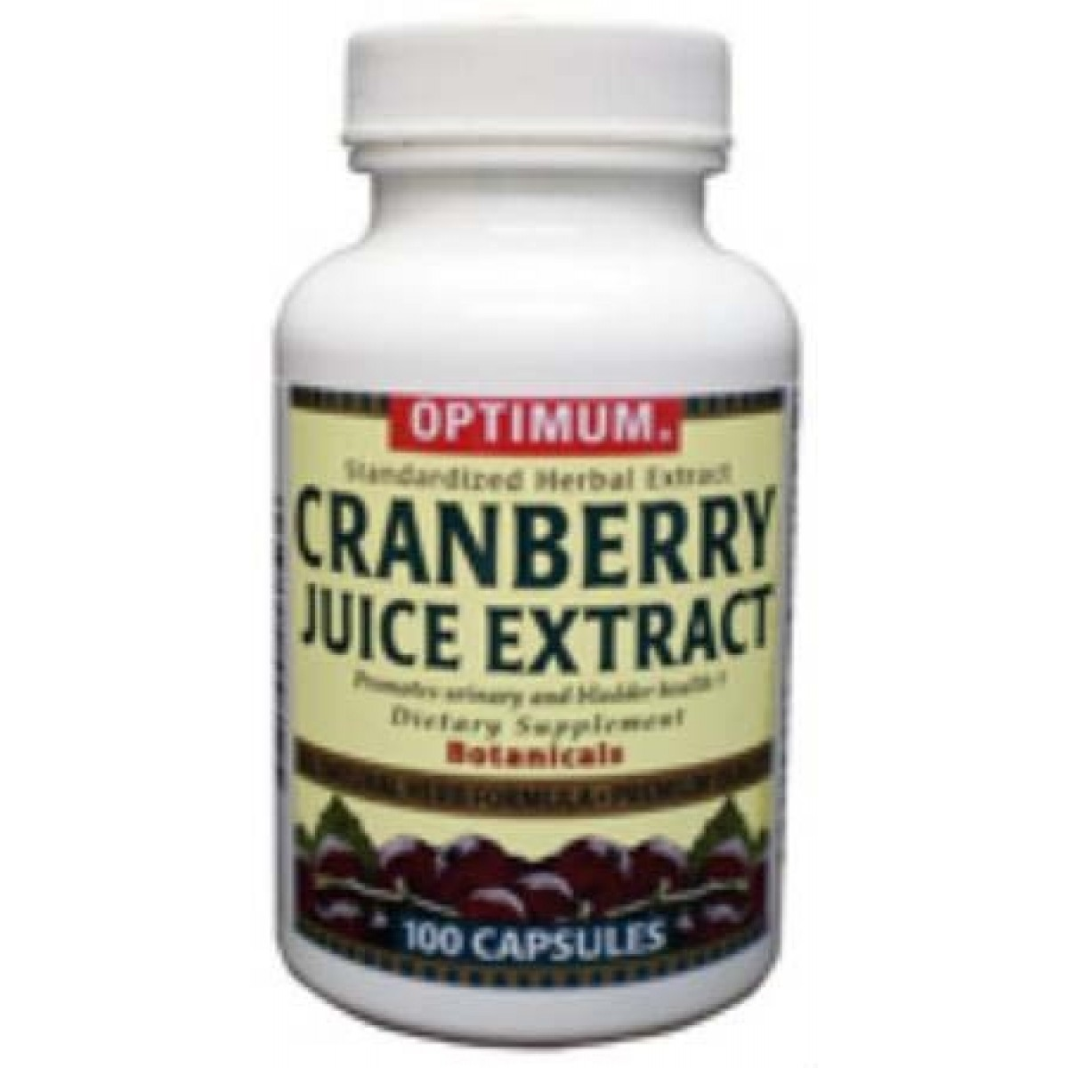 Cranberry juice pills