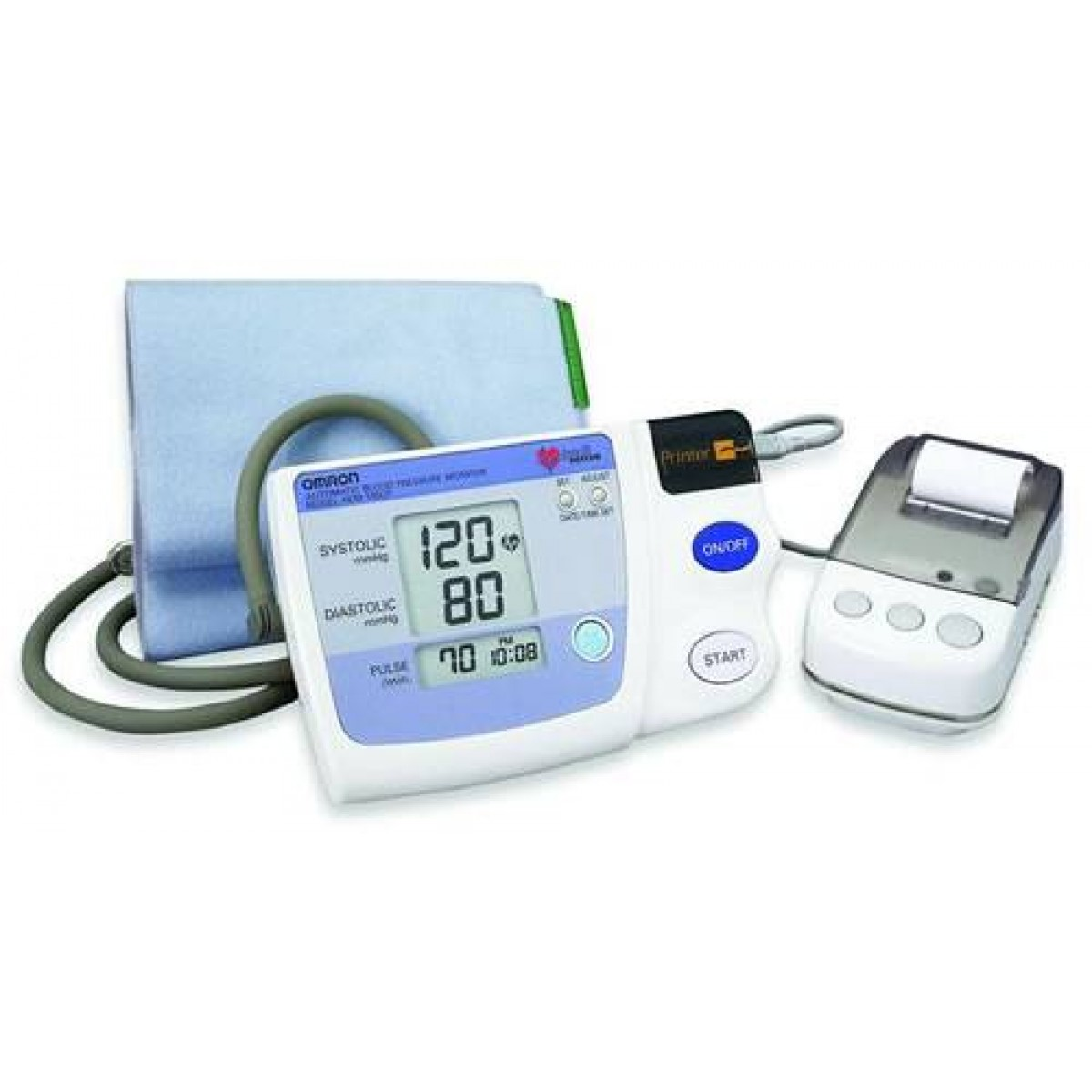 Stress Test Blood Pressure Readings: Omron Measurement Printout Blood Pressure Monitor ON SALE