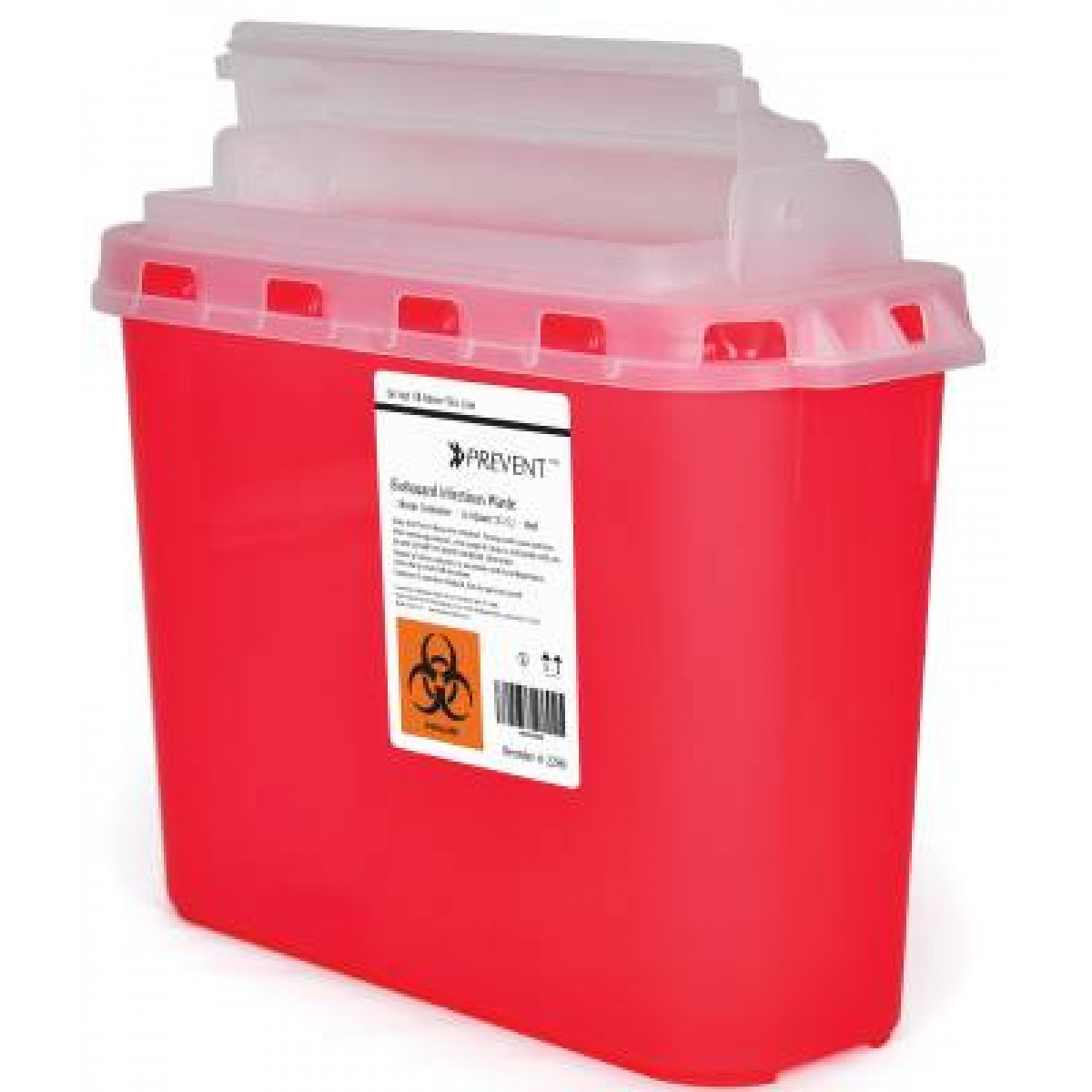 PreVent Sharps Container 11H X 12W X 475D Inch 2269