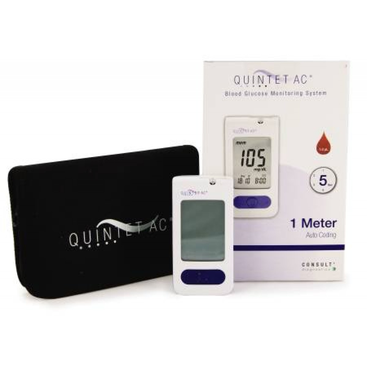 Quintet Ac Blood Glucose Monitoring System 5055