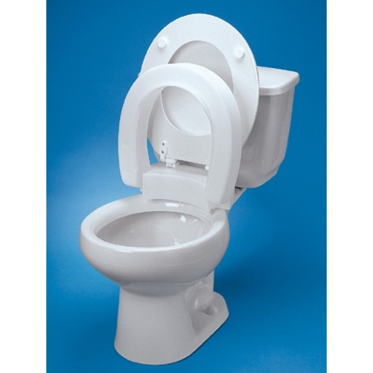 Tall Ette Elevated Hinged Toilet Seat Standard 725711000