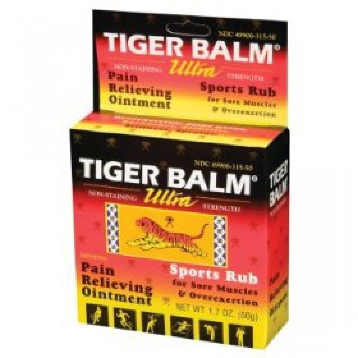 Tiger balm for pain