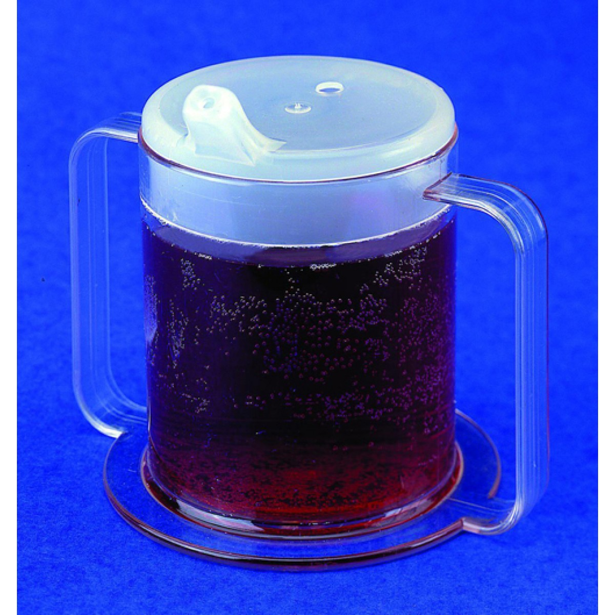 Independence 2 Handle Plastic Mug by Providence Spillproof Container