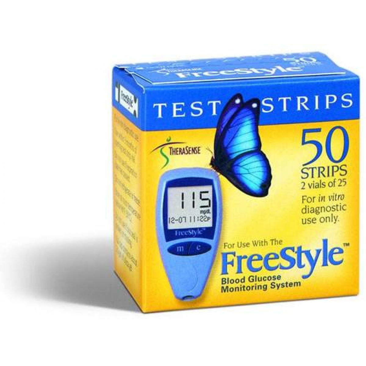 Free style test strips diabetes