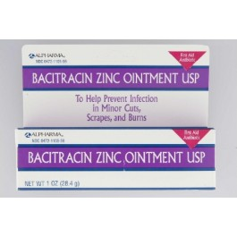 Bacitracin Zinc First Aid Antibiotic - 1766229