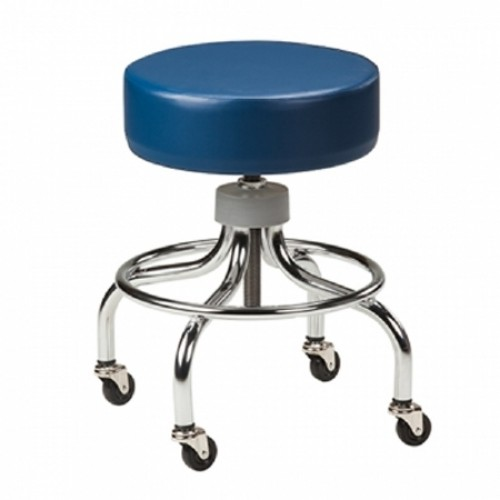 Chrome Series Exam Stool - 2102-BLK