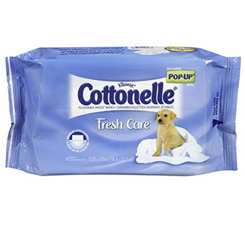 Cottonelle GentlePlus Flushable wipes are perfect for feeling fresh through the day. Regular toilet paper can't do that. I also used them for quick clean up after doing yard work.I will purchase more to keep on hand. [This review was collected as part of a promotion.].
