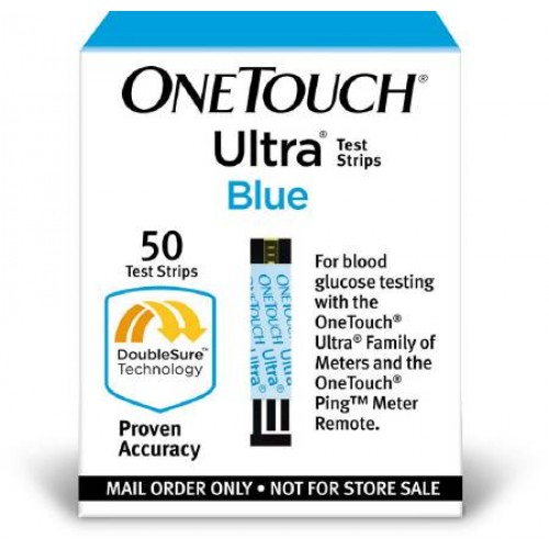 One touch glucose test strips
