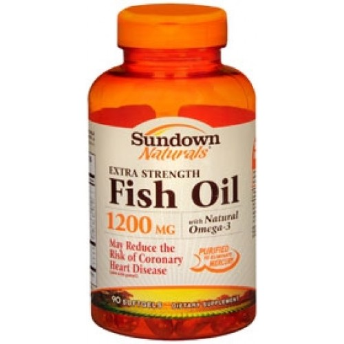 Sundown naturals extra strength fish oil 1923424 for Sundown naturals fish oil