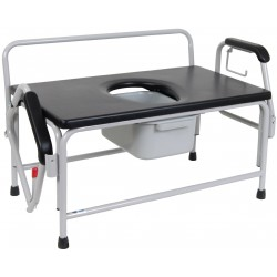 Drive Extra-Large Bariatric Drop Arm Commode