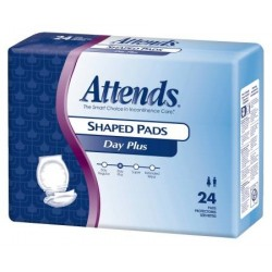 Attends Shaped Incontinence Pads
