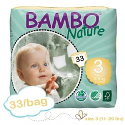 Premium Tab Closure Baby Diaper Heavy Absorbency Size 3 - 310131