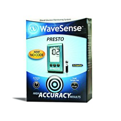Aga Matrix Wavesense Presto Blood Glucose Meter Kit