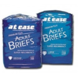 At Ease Tab Closure Incontinent Brief Moderate Absorbency Large - 73072