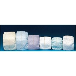 At Ease Premium Plus Tab Closure Incontinent Brief Moderate Absorbency Small - 91096