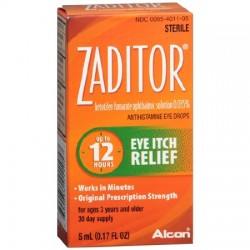 Zaditor Antihistamine Eye Drops - 1924091