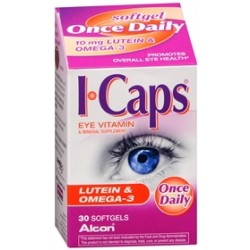 ICaps Eye Vitamin and Mineral Supplement with Lutein - 1953835