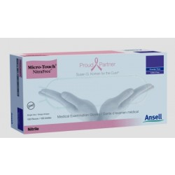 Micro-Touch NitraFree Nitrile Exam Gloves - Powder Free X-Large - 6034512