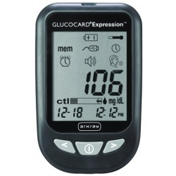 Glucocard Expression Blood Glucose Meter Kit - 571100