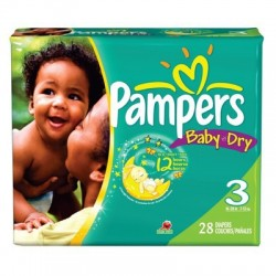 Pampers Tab Closure Baby Diaper Heavy Absorbency Size 6 - 45217