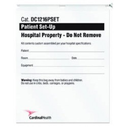 Patient Set-Up Bag 12 X 16 Inch - DC1216PSET
