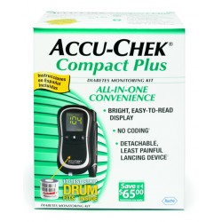 Roche Accu-Chek Compact Plus Blood Glucose Monitoring System