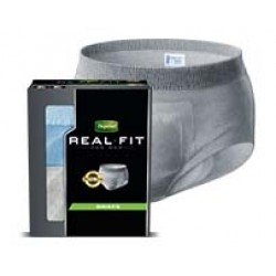Depend Real Fit Incontinence Briefs for Men