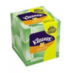 Kleenex Boutique* Anti-Viral Facial Tissue 8.2 X 8.2 Inch - 25836
