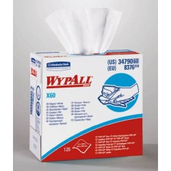 "Wypall X60 Teri Wipers, Pop-Up Box, 9.1"" x 16.8"" 16.8 L X 9.1 W Inch - 34790"