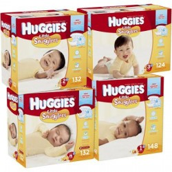 Huggies Tab Closure Baby Diaper Newborn - 40754