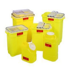 Bd Becton Dickinson Bd Chemo Sharps Container 17 Gl Yl