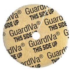 GuardIVa Hemostatic IV Dressing 1 Inch Disk with 4.0mm Center Hole - FP-23-AD008