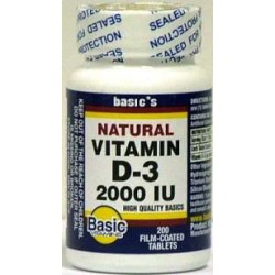 Basics Vitamin D3 Supplement - 2130573