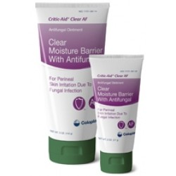Critic-Aid Clear Moisture Barrier Ointment with Antifungal, 4 g Packet - 7570