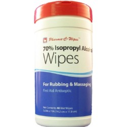 Pharma-C-Wipes 70% Isopropyl Alcohol First Aid Wipe - 200736