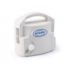 Pulmo-Aide Compact Compressor with Disposable Nebulizer 7.5 W X 7.2 D X 4 H Inch - 3655D