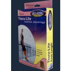 Thera-Lite Thigh-high 15-20 mmHg Compression Stockings, Closed Toe Large - 11911L