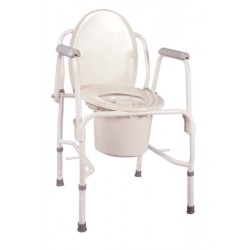 K.D. Deluxe Commode Chair - 11125KD-1