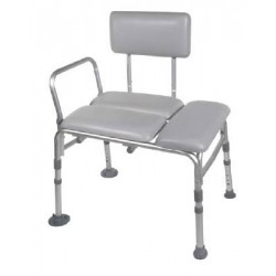 Padded Seat Transfer Bench by Drive Medical - 12005KD-1