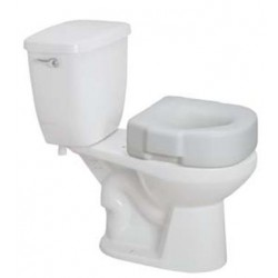 Raised Toilet Seat, 300 lb Weight Capacity 6 Inch - 12040-3