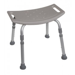 KD Aluminum Bath Bench without Back By Drive Medical - 12203KD-4