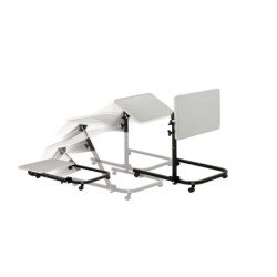 Pivot and Tilt Adjustable Overbed Table Tray by Drive Medical - 13000
