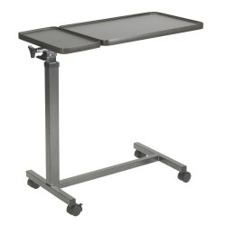 Multi-Purpose Tilt-Top Split Overbed Table by Drive Medical - 13068BV