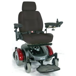 Image EC Mid Wheel Drive Power Wheelchair by Drive Medical - 2800ECBU-RCL