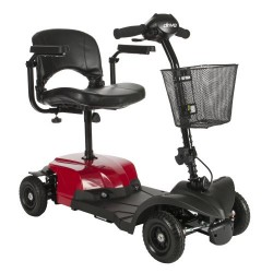 Bobcat X4 Compact Transportable Power Mobility Scooter, 4 Wheel by Drive Medical - BOBCATX4