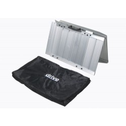 Single Fold Portable Wheelchair Scooter Ramp with Carry Handle and Travel Bag by Drive Medical - STDS1093
