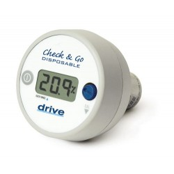 O2 Analyzer with 3 Digit LCD Display by Drive Medical - 18580